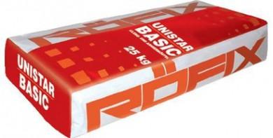Roefix Unistar Basic Лепило и шпакловка за вата