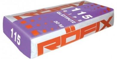 Roefix 115 Гипсова гладка мазилка