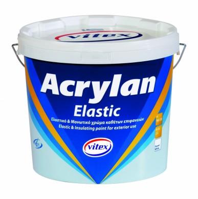 Фасадна боя Vitex Acrylan за вертикални повърхности