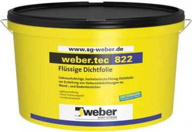 Weber.tec 822 Еластична хидроизолация