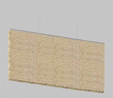 Висящо пано от дървесни влакна KNAUF HERADESIGN Baffle Basic Superfine - 30/600/1800 мм