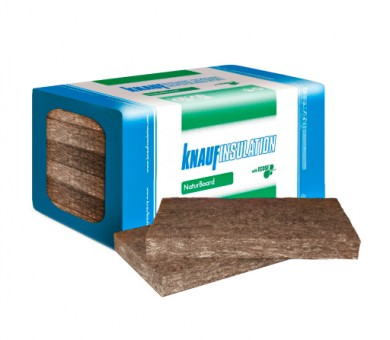 Каменна вата Knauf Insulation NaturBoard FIT плочи - 50/600/1000 мм