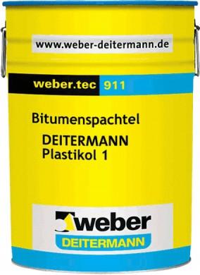 Weber.tec 911 Битумна хидроизолационна паста