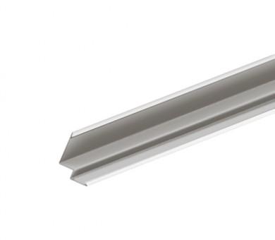 Бял Окрайчващ Профил KNAUF Armstrong Ceiling Solutions Shadowline Perimeter Step 8mm Grid System White - 3050 мм