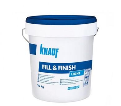 Универсален готов фугопълнител и шпакловка Knauf Fill & Finish Light - 20кг