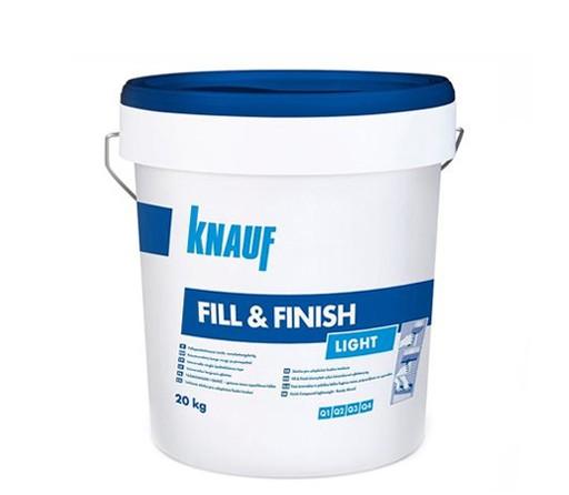 Универсален готов фугопълнител и шпакловка Knauf Fill&Finish Light - 20кг