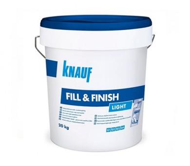 Универсален готов фугопълнител и шпакловка Knauf Fill&Finish Light - 20 кг