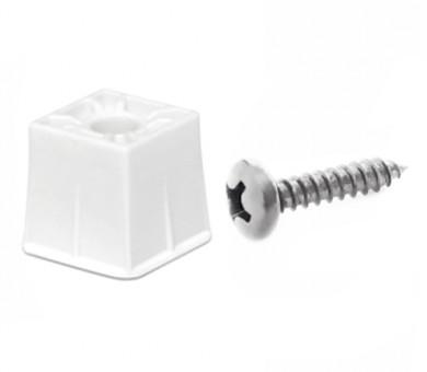 Монтажен комплект Knauf Cleaneo Cap за плоскости Cleaneo Akustik 12,5 мм - LN 12Q бял винт 500 бр.