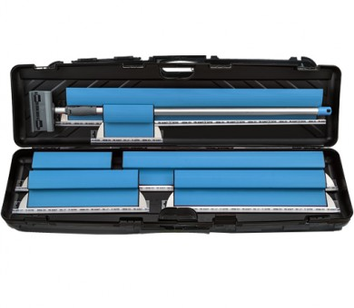 Инструменти за шпакловане в голям куфар Knauf