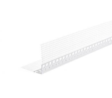 Ъглозащитен PVC профил с мрежа Рол-ек Knauf 25 метра - 125/125 мм