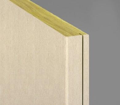 Стенно пано минерална вата Ecophon Akusto Wall C / Texona Ginger - 40/600/2700 мм