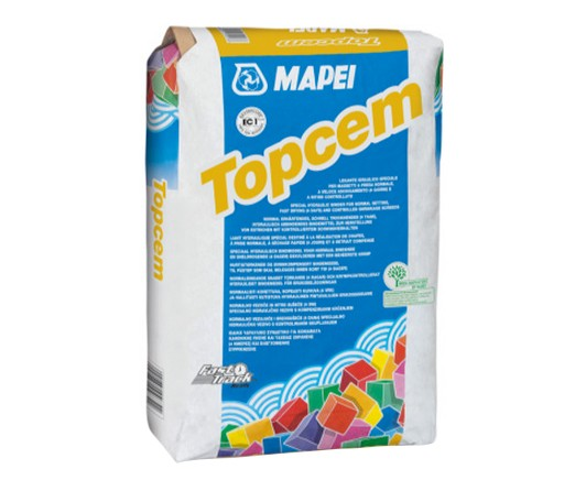 Бързосъхнеща циментова замазка MAPEI Topcem - 20кг