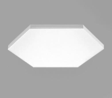 Висящо пано минерална вата Ecophon Solo Freedom Hexagon White Fros - 40/1040/1200 мм