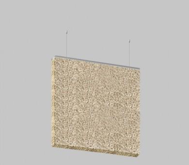 Висящо пано от дървесни влакна KNAUF HERADESIGN Baffle Basic Fine - 30/600/600 мм