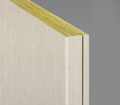 Стенно пано минерална вата Ecophon Akusto Wall C / Texona Garlic - 40/600/2700 мм