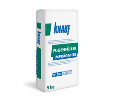 Фугираща и шпакловъчна маса Knauf Fugenfüller Imprägniert 5кг