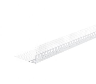 Ъглозащитен PVC профил с мрежа Knauf - 100/150/2500 мм
