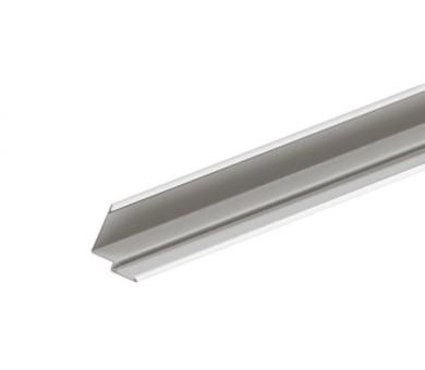 Бял Окрайчващ Профил KNAUF Armstrong Ceiling Solutions Shadowline Perimeter Step 6,35mm Grid System White - 3050 мм