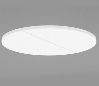 Висящо пано минерална вата Ecophon Solo Circle XL White Fros - 40/Ø1600 мм