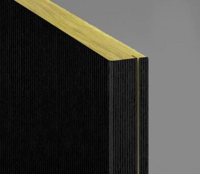 Стенно пано минерална вата Ecophon Akusto Wall C / Texona Liquorice - 40/600/2700 мм