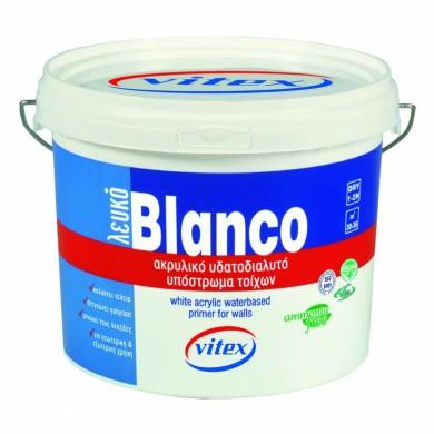 Бял матов грунд Vitex Blanco