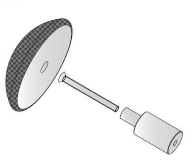 Окачващ елемент Ecophon Connect One fixing Light Grey